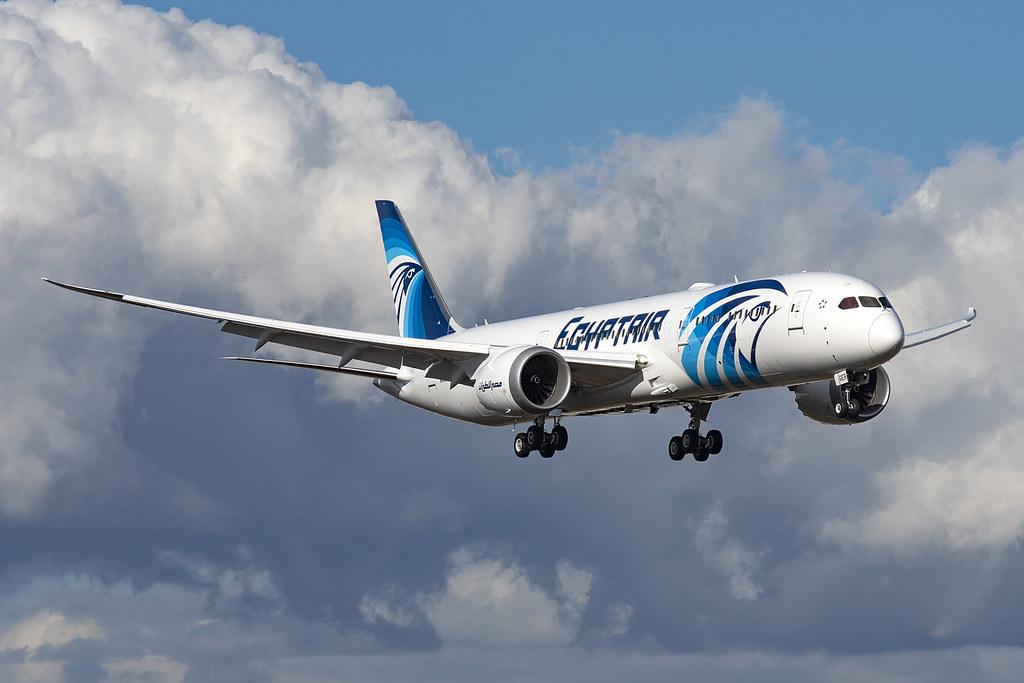 Egyptair Boeing 787-9 SU-GER