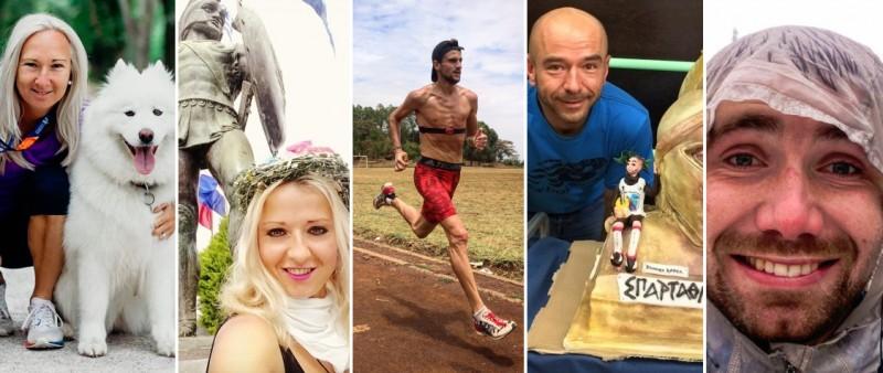 Eva, Katka, Jirka, Radek, Pavel. Jaký bude jejich běžecký rok 2019?