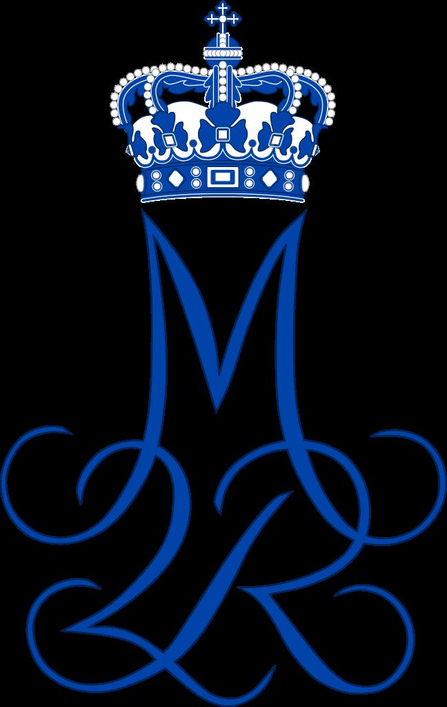 Royal Monogram of Queen Margrethe II