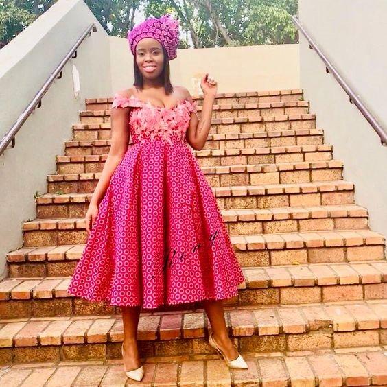 Fresh Shweshwe Dresses you should see 2019