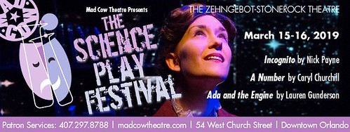 2019 Science Play Festival at Mad Cow Theatre