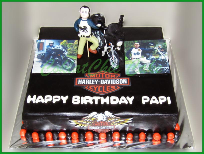 Cake Harley papi 30 cm