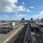 Wolverhampton Station footbridge views