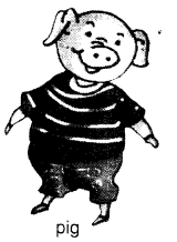 NCERT Solutions for Class 1 English Chapter 2 Three Little Pigs 1