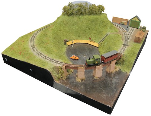 The Handyman Hall railway