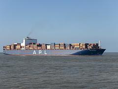 APL Savannah - Noordzee