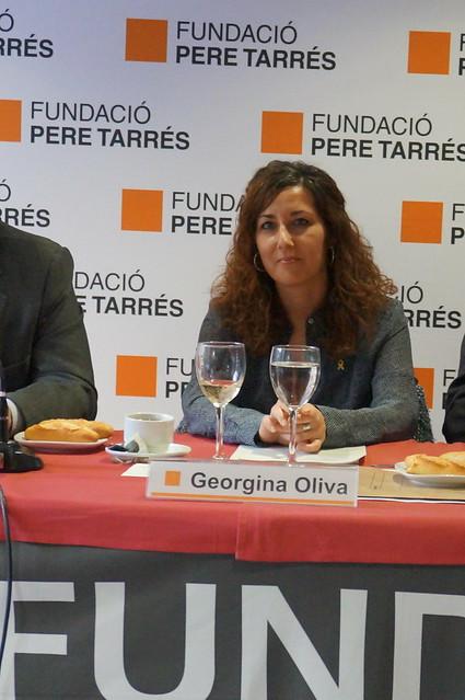 Fòrum Social Pere Tarrés amb Georgina Oliva