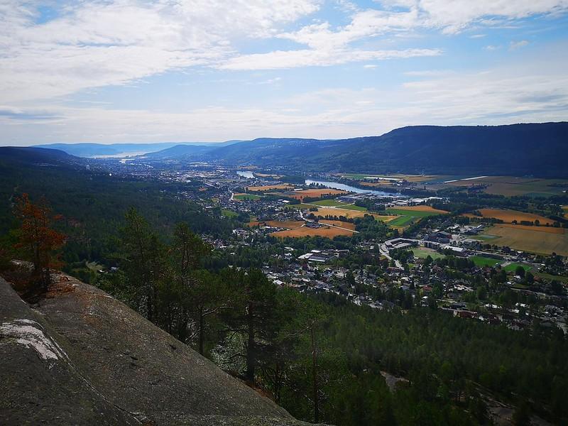 02-Utsikt mot Drammen fra Vesle-Knabben