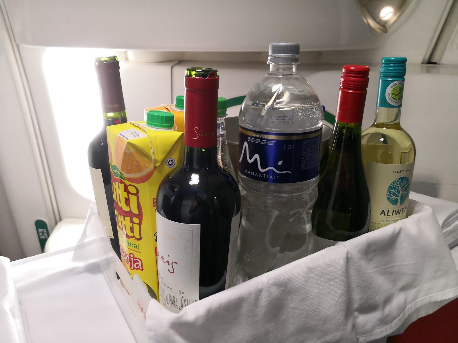 Onboard beverages