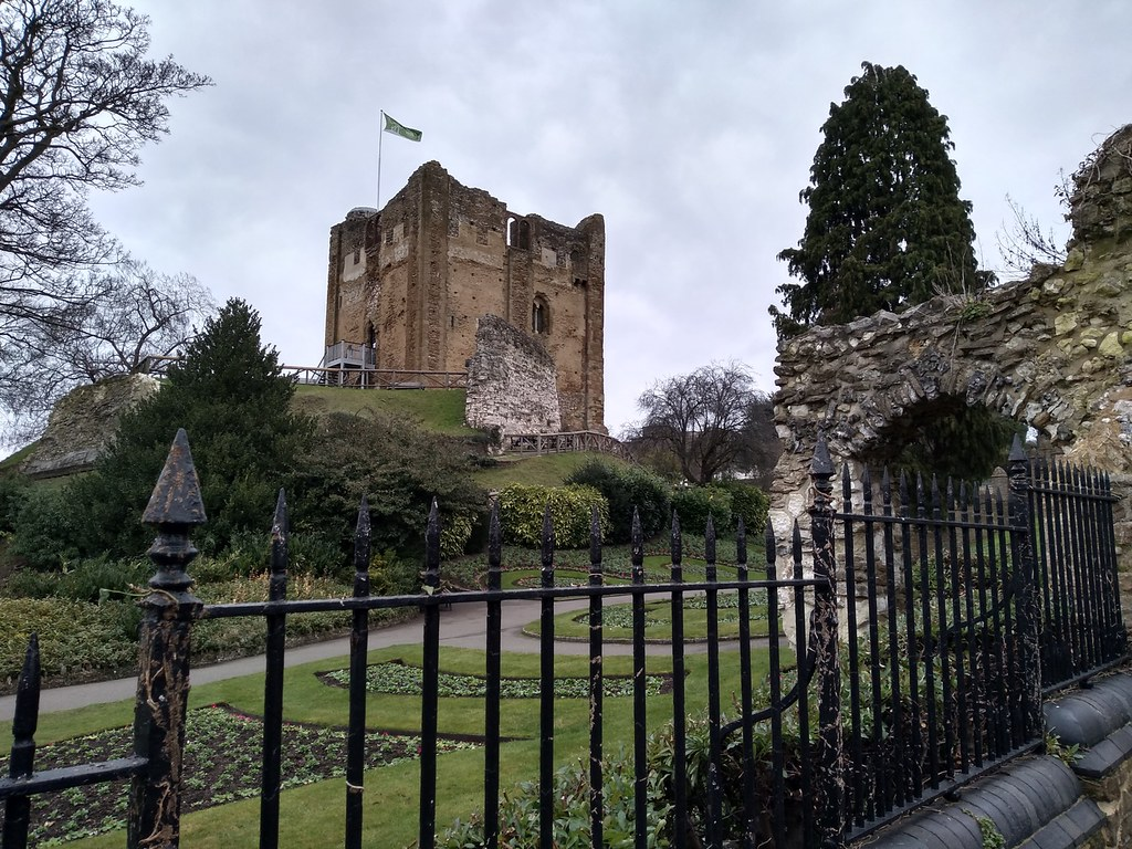 The Keep at Guildford Castle