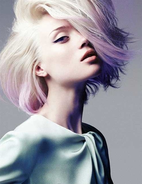 Short Pastel Hair Color Ideas
