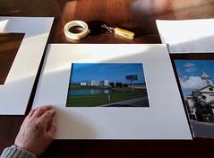 Mounting prints 44/365 (5/1505)