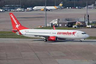 TC-TJI Boeing 737-8S3 Corendon Airlines