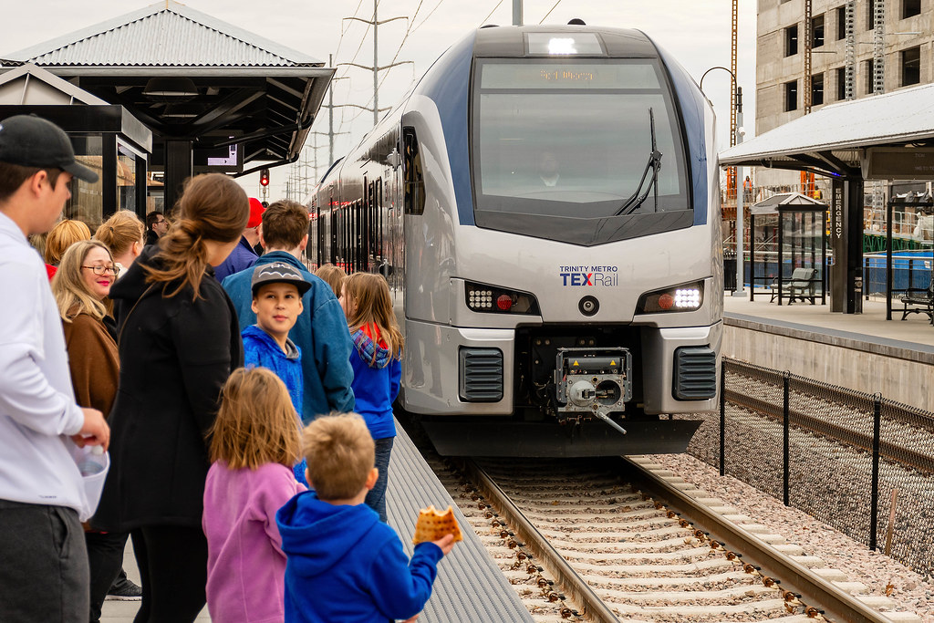 TEXRail ride today