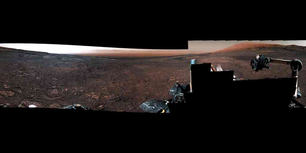 Vidéo : le rover Curiosity quitte Vera Rubin Ridge