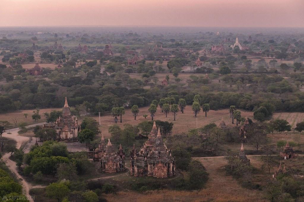 Dawn - Bagan