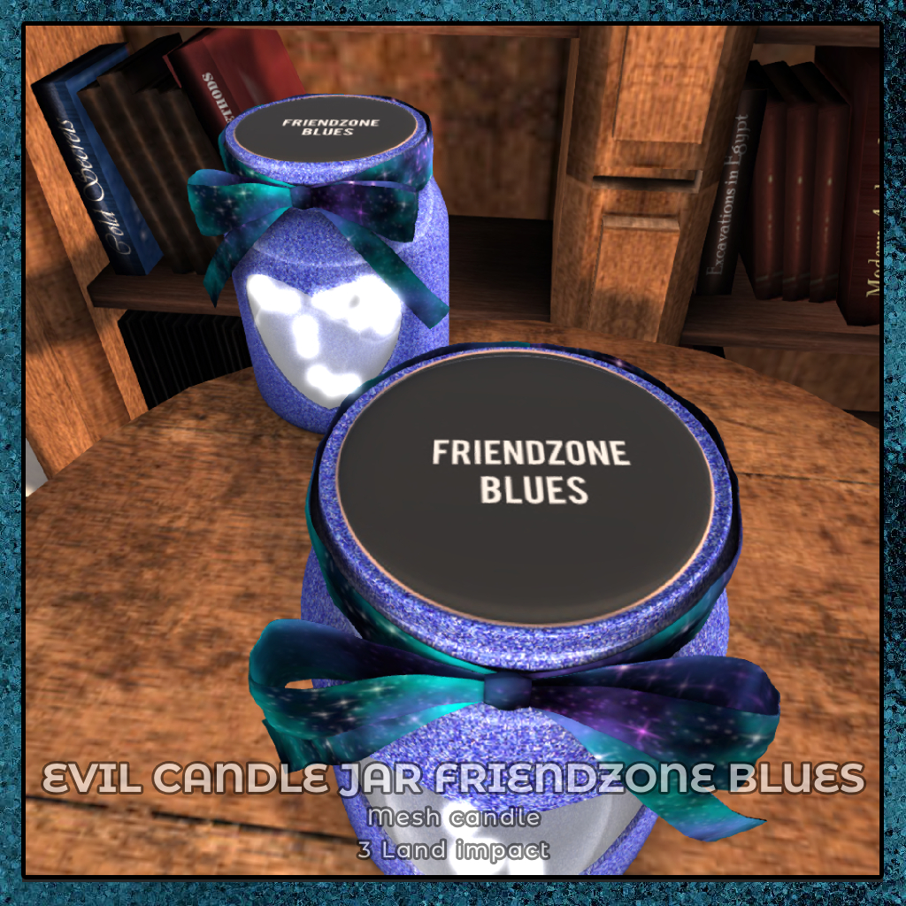 {zfg} home evil candle friendzone blues