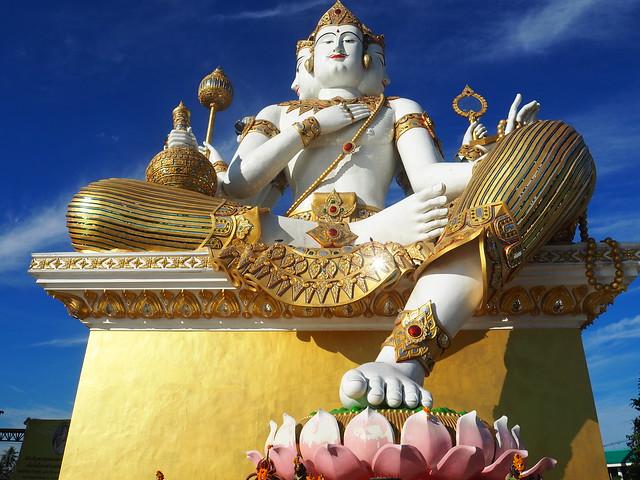 P1020517 Wat Saman Rattanaram(ワット・サマーン・ラッタナーラーム) ピンクガネーシャ バンコク Bangkok ひめごと