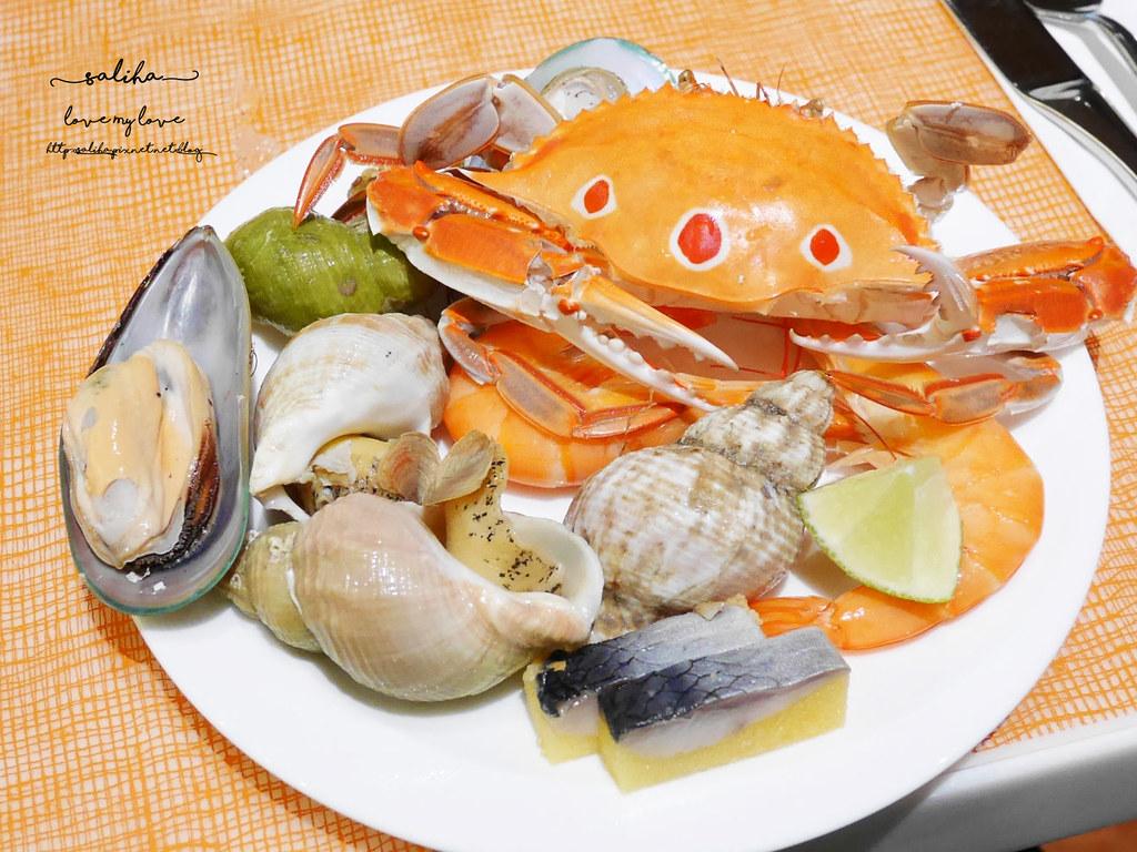 台北美麗華附近餐廳飯店下午茶吃到飽美福彩匯自助餐 (3)