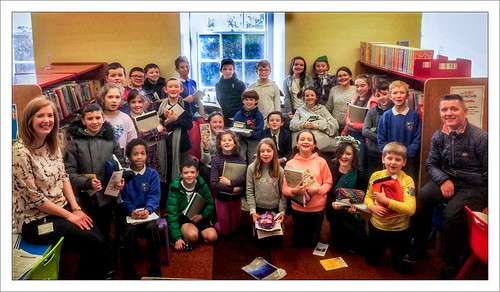 World Book Day - Cootehall NS in Boyle Library | by Real Group Photos