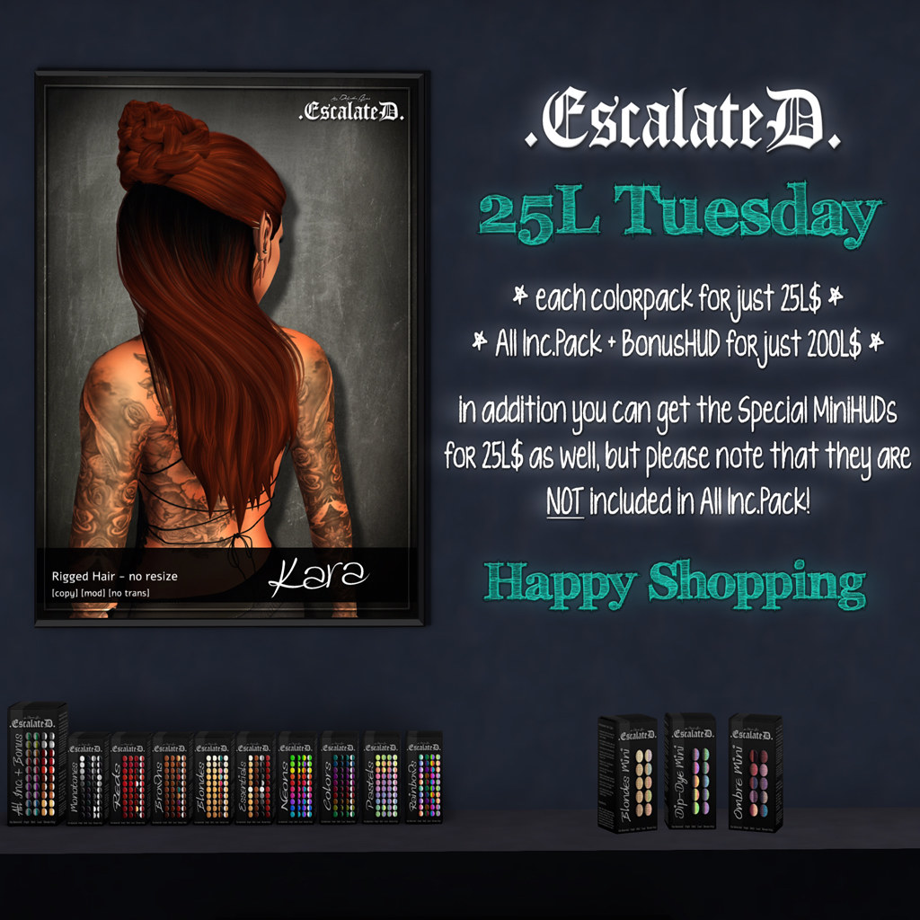 .EscalateD. | 25LTuesday | 12.Mar.19