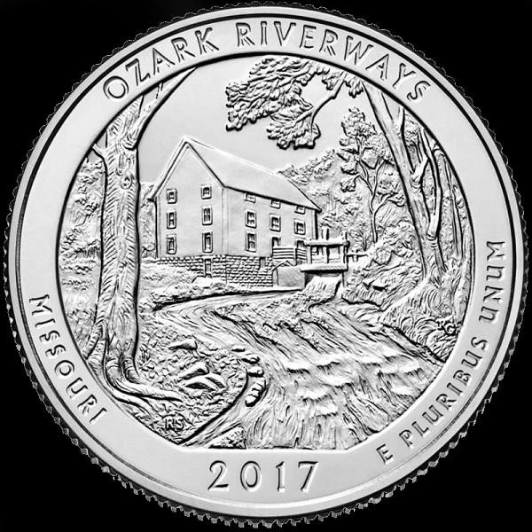 25 cents – Ozark National Scenic Riverways