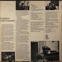 DONNY HATHAWAY:DONNY HATHAWAY(JACKET B)