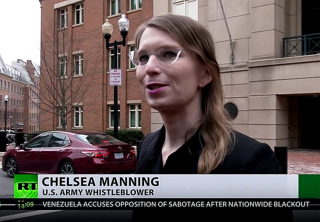 Chelsea Manning Jailed for Refusing to Cooperate with Wikileaks Grand Jury + Activists Attempt To Visit Chelsea Manning