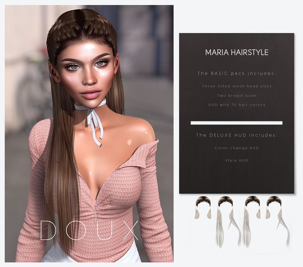 Doux – Maria Hair Styles @ equal10