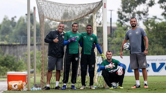 Treino do Fluminense - 16/03/2019