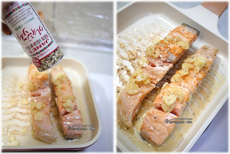 煎鮭魚904