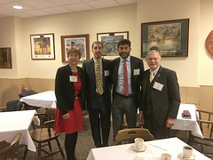 Reps. Simanski and Zawistowski attended a legislative reception hosted by the Hartford County Medical Association. Dr. Ghumman, a Primary Care physician in East Granby and Kyle Glose, a medical student, shared their perspectives on proposals impacting their practice and patient care.