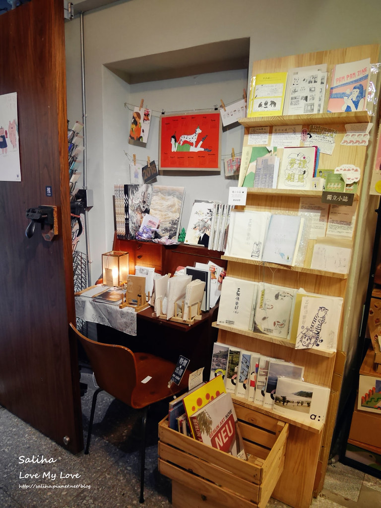 台北中正紀念堂古亭站附近不限時文青風閱讀看書繪本咖啡廳生活在他方 (11)