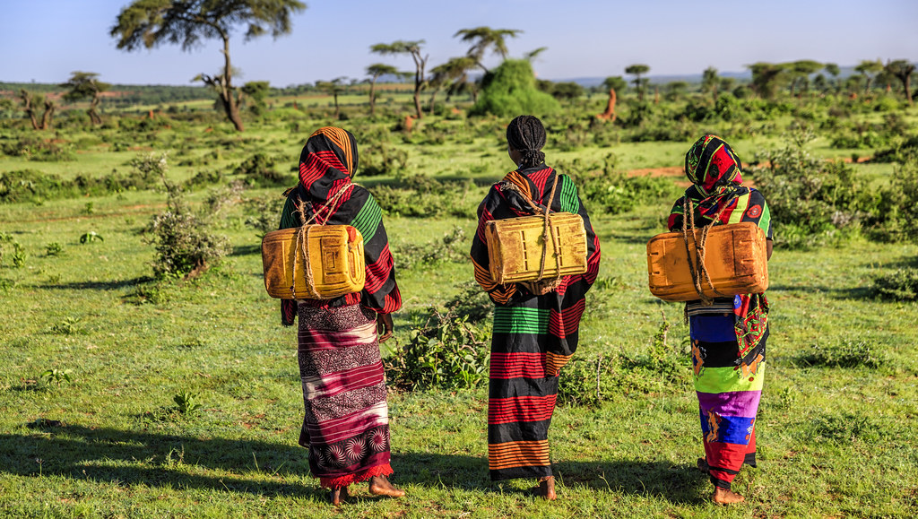 Women in Ethiopia.