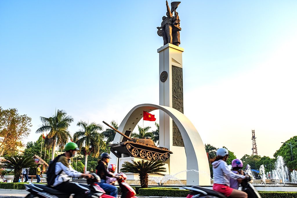 Victory monument--Buon Ma Thuot