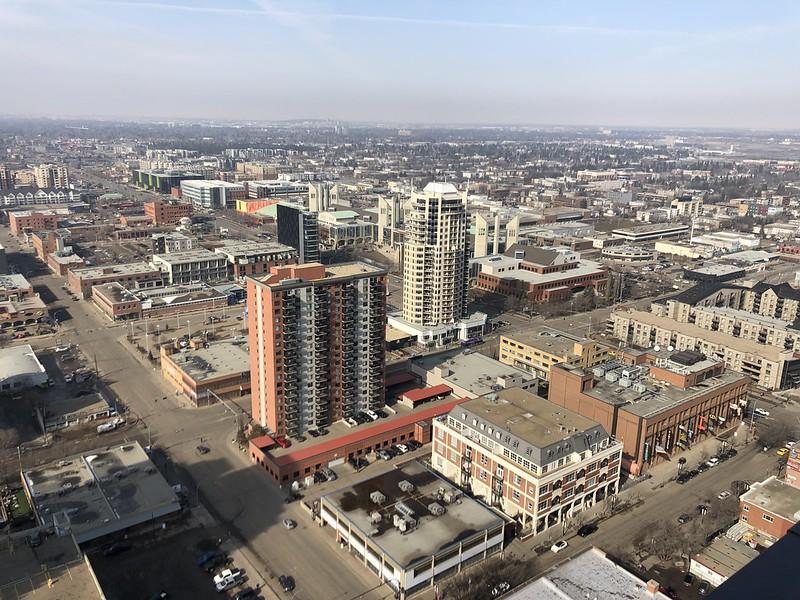 Downtown Edmonton March 2019