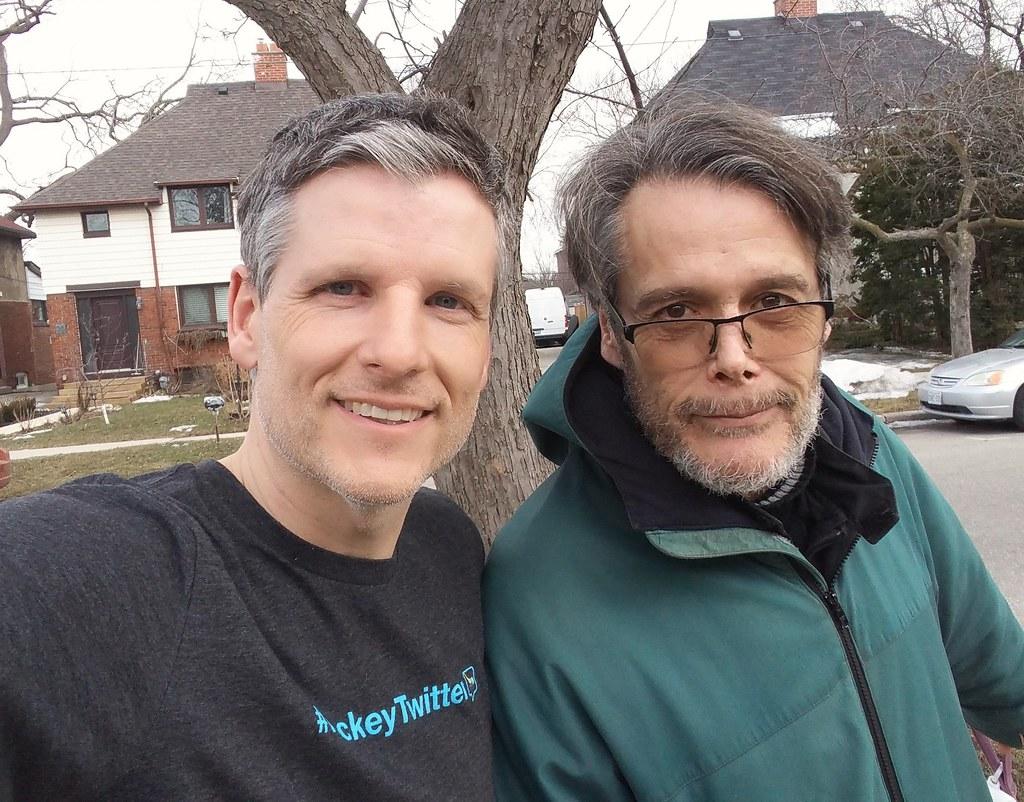 Ralph Benmergui and me