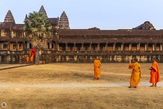 Angkor Wat - Library