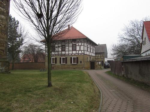 20110316 0203 386 Jakobus Rudersdorf Weg Kirche Häuser