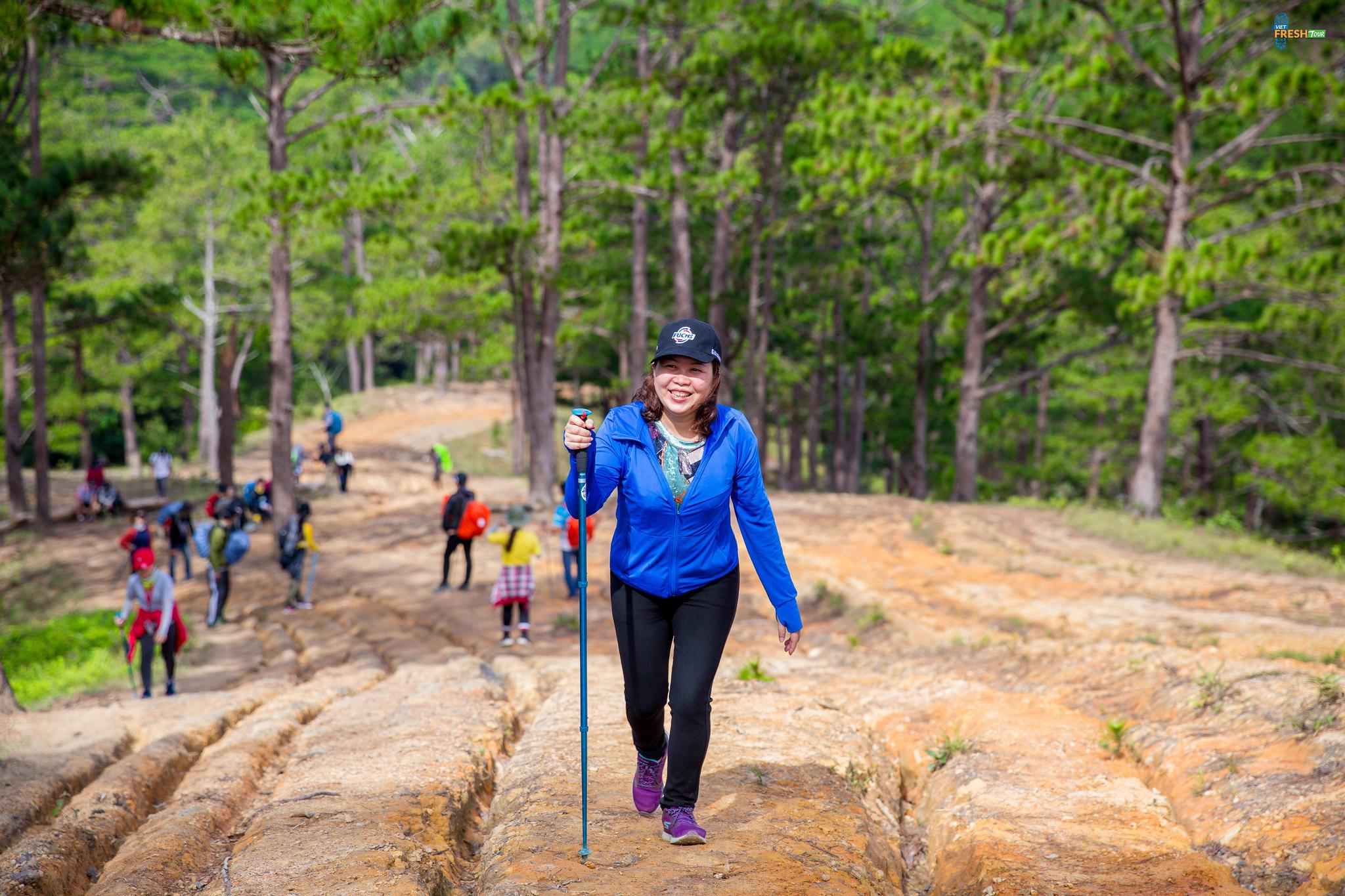Viet Fresh Tour - tour trekking - gậy trekking