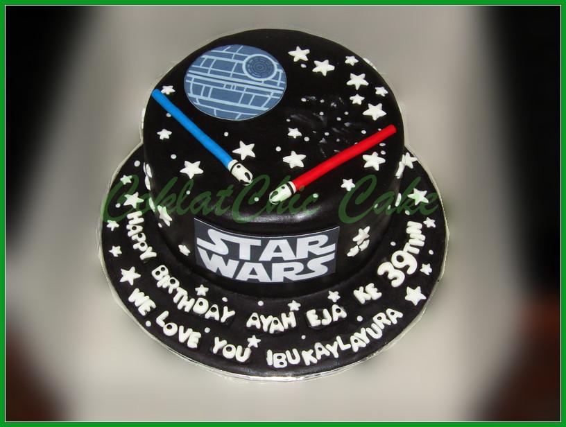 Cake StarWars AYAH EJA 18 cm