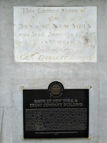 Bank of New York Cornerstone