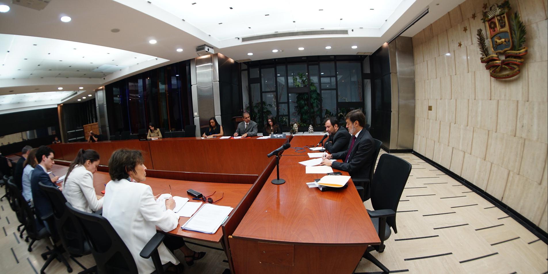 Gobierno de Venezuela y Grupo Internacional de Contacto exploran vías de cooperación técnica