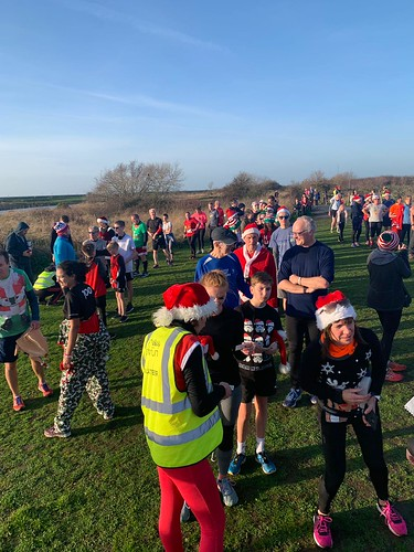 Barcode Scanning at Southend parkrun