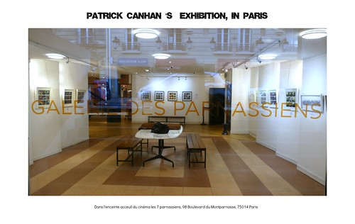 Welcome to Patrick's canhan exhibition : du 16 février au 01 mars