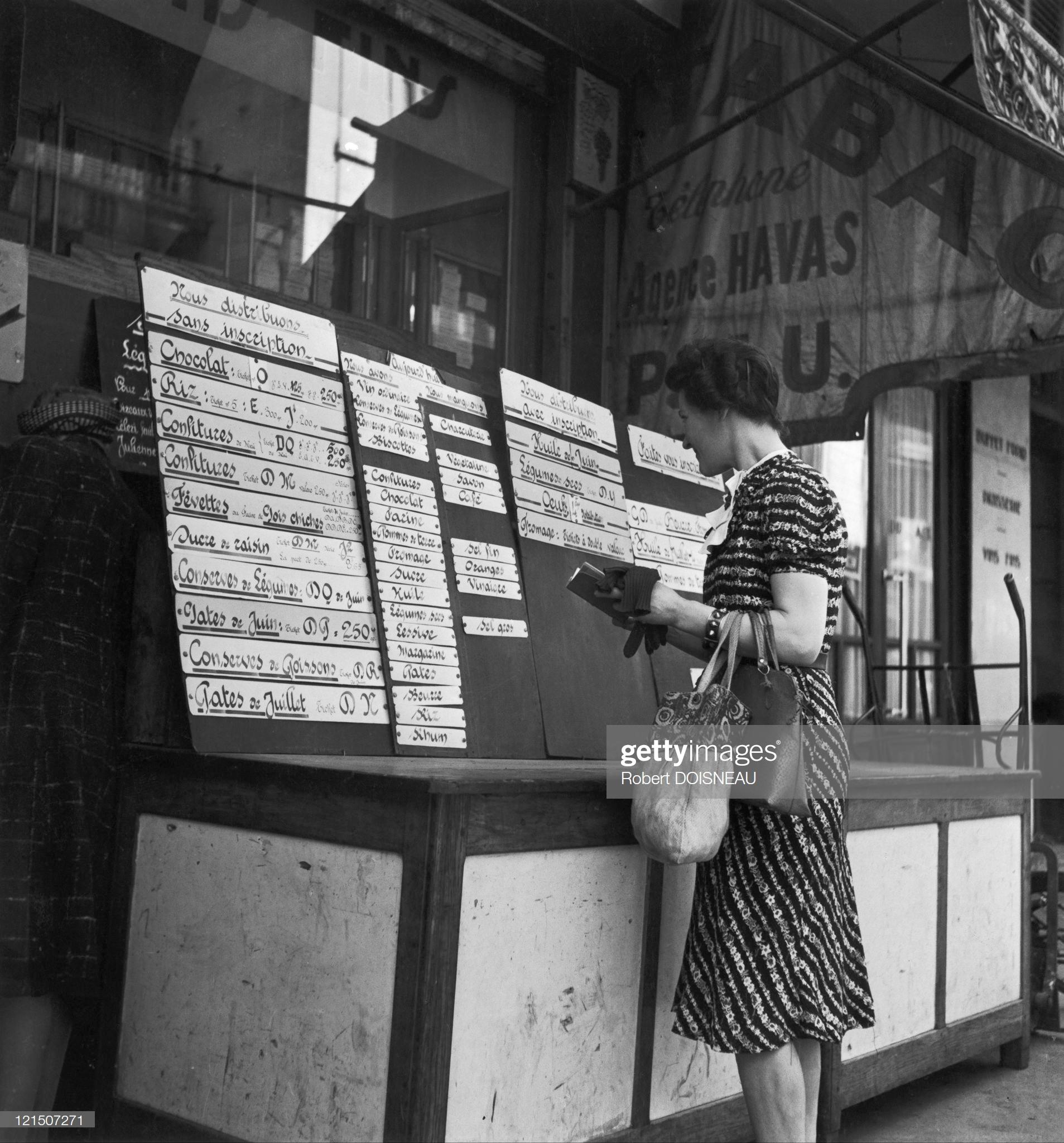 1942. Дефицит еды
