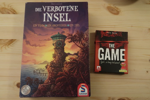 """Kooperationsspiel """"Die verbotene Insel"""" und kooperatives Kartenspiel """"The Game"""""""
