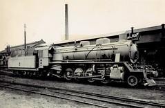 Africa Railways - Congo - Chemin de fer du Congo Supérieur aux Grands Lacs Africains (CFL) 2-8-2 steam locomotive Nr. 74 (Haine St. Pierre Locomotive Works 2035 / 1950)