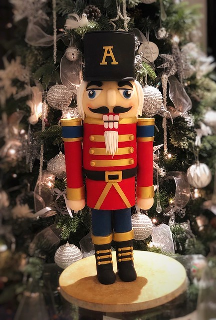 Nutcracker Cake by Jennifer Chan of The Luxe Cake Co.