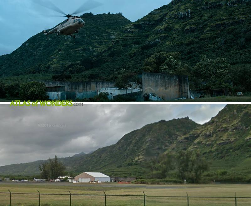 Dillingham Air Field in Waialua